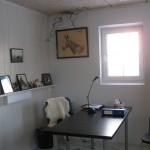 Kontoret mitt - ikke helt i bruk ennå....