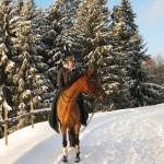 Line og Maxima på vei ut i vinteren